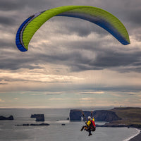 Paragliding tours south iceland