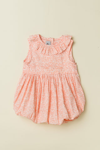 'Coral Pink' Baby Girl Bubble