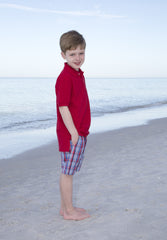 Boys Sagamore Hill Plaid Shorts