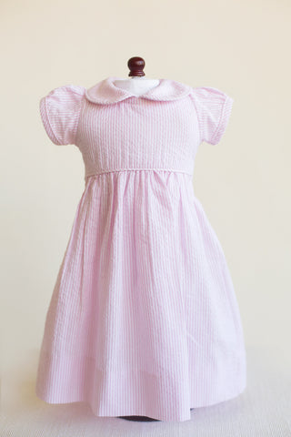Seersucker Doll Dress