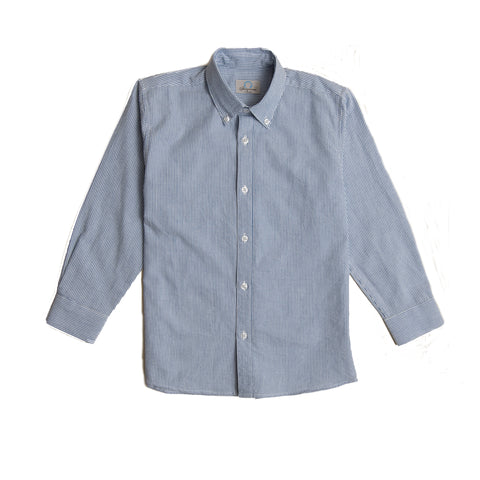 Boys Seersucker Buttondown