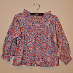Girls Surrey Ruffle Collar Blouse
