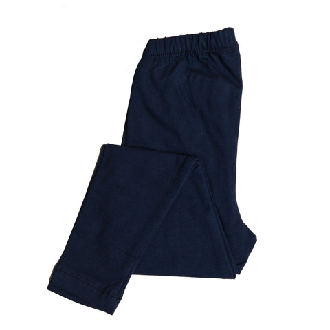 Girls Navy Legging