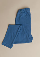 Girls Steel Blue Legging