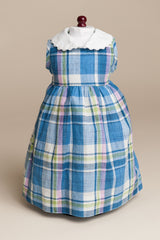 Madras Plaid Doll Dress