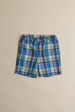 Boys Madras Plaid Shorts