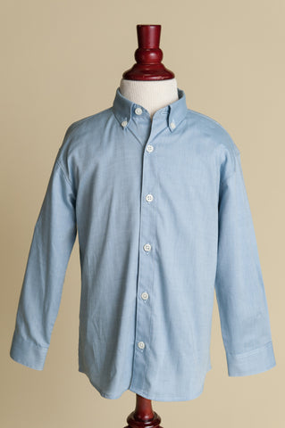 Boys Chambray Buttondown