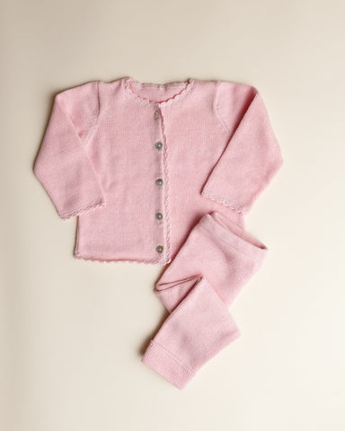 Baby Girl Cardigan Set
