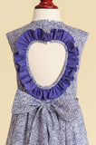 Liberty of London 'Amethyst' Heart-back Ruffle Dress