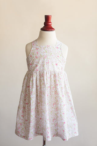 'Lillian' Dress in Pink Floral