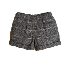 Girls Tweed Winter Shorts