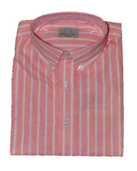 Boys Nantucket Red Stripe Button-down Shirt