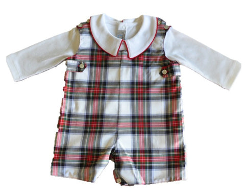 Royal Stewart Plaid Jon Jon Set