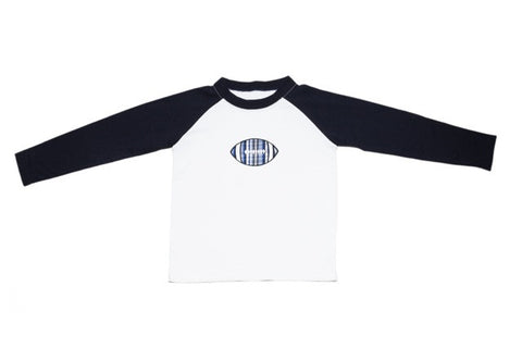 Boys Football Raglan Shirt