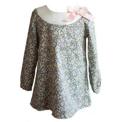 Girls Floral Tunic Top