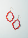 Sadie Lantern Hoop Earrings