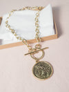 Roma Large Coin Necklace