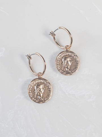 Athena Coin Earrings