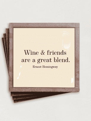 Wine & Friends Coaster