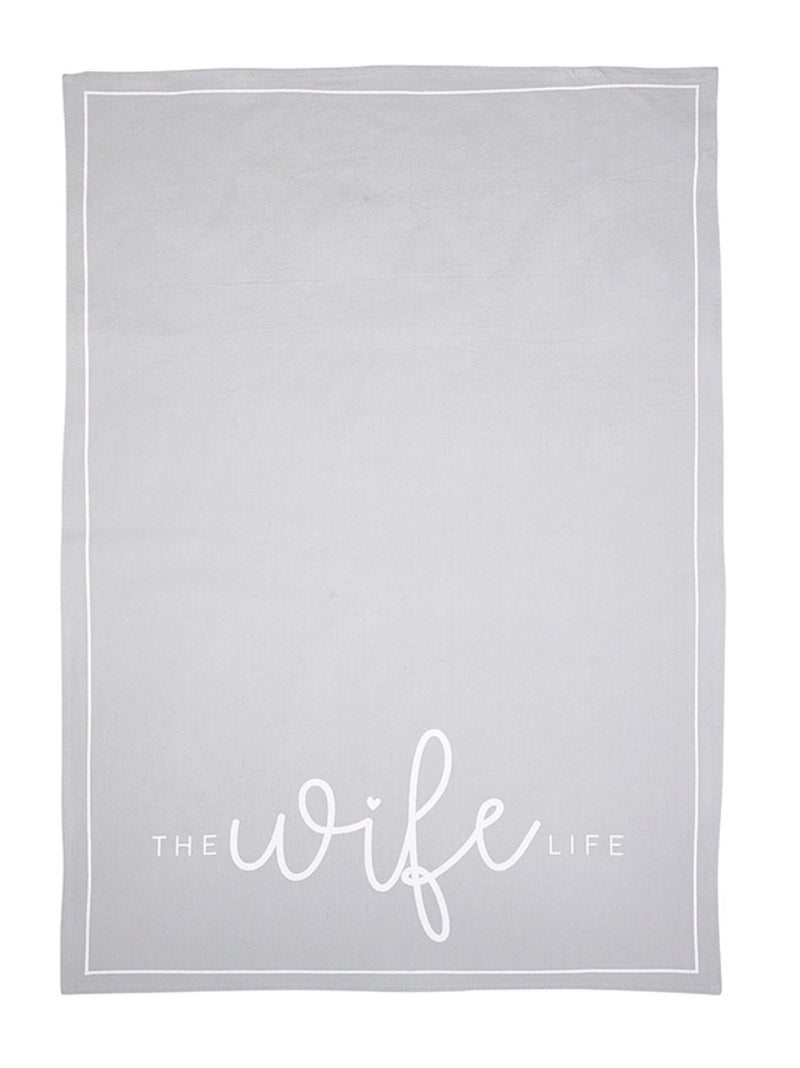 The Wife Life Tea Towel