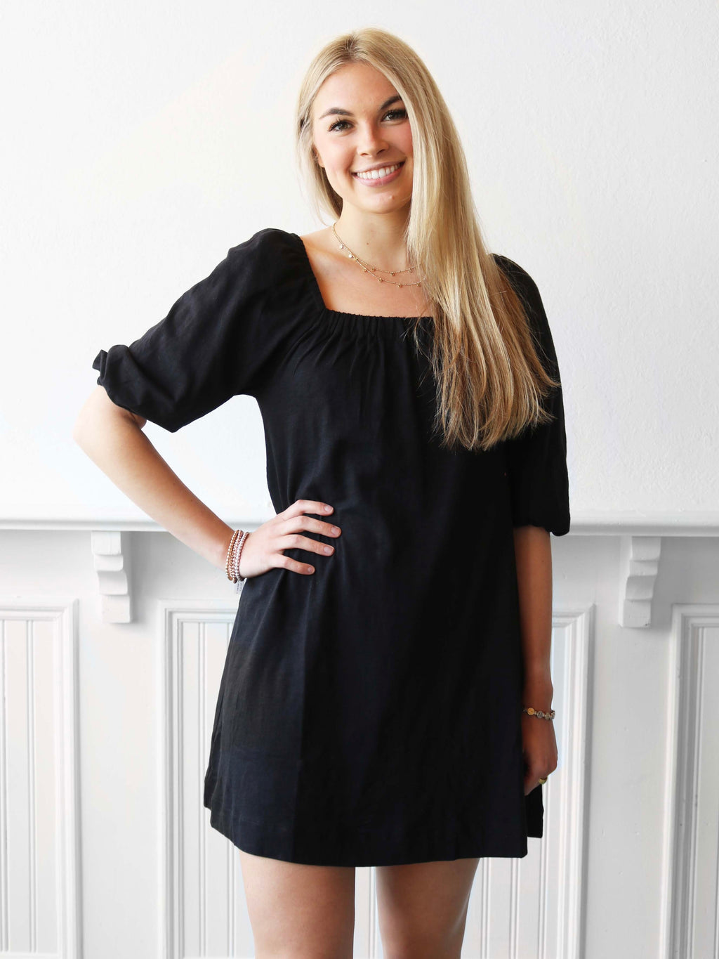 Midnight Knit Dress - Black