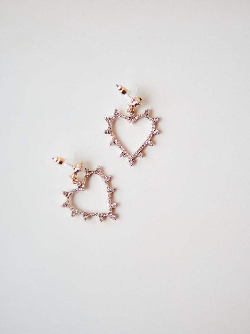 Lima Heart Earrings