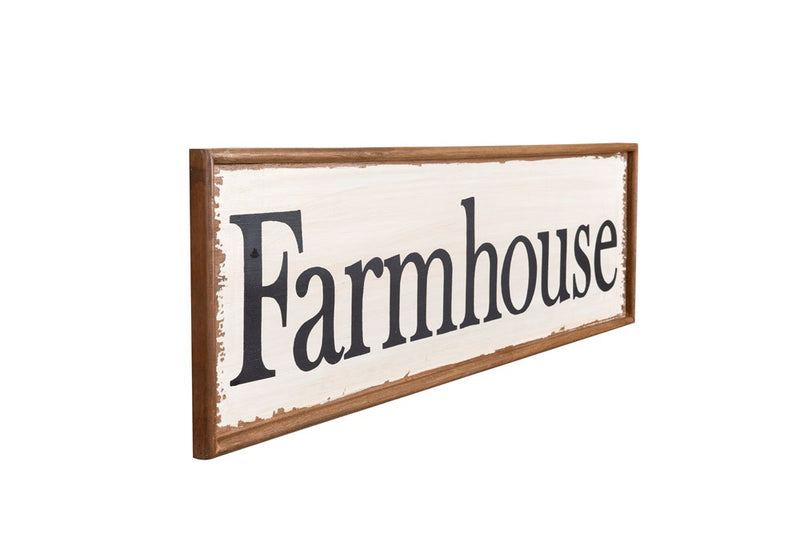 Farmhouse Wooden Sign