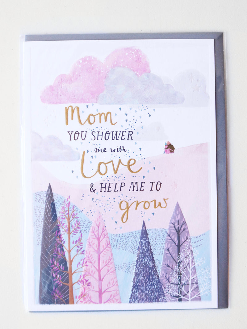 Help Me Grow Mother's Day Card