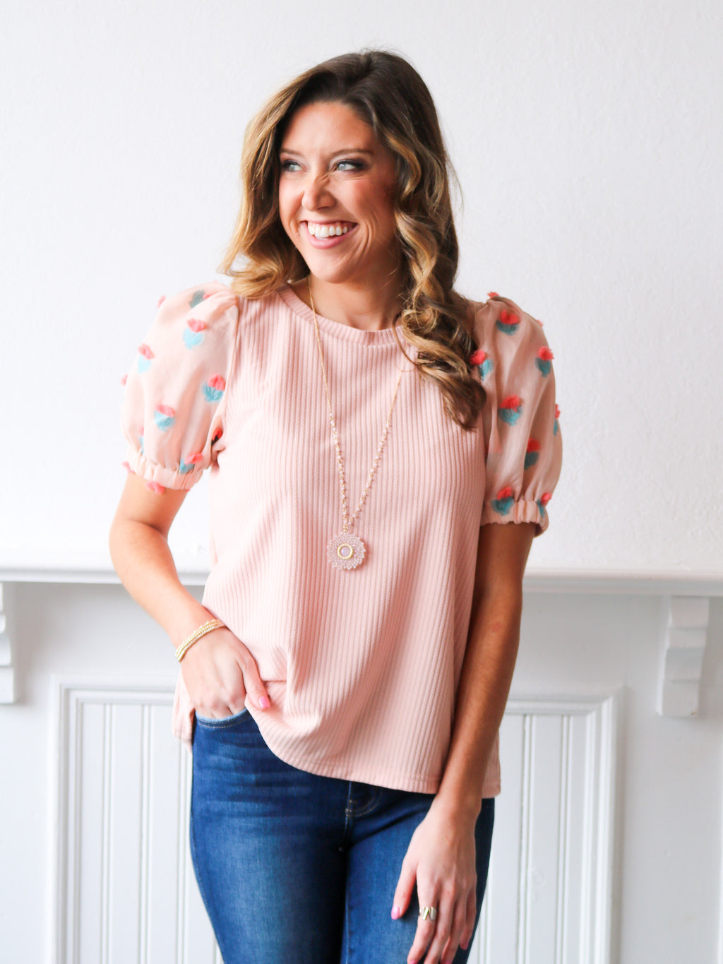 Enchanted Puff Sleeve Top
