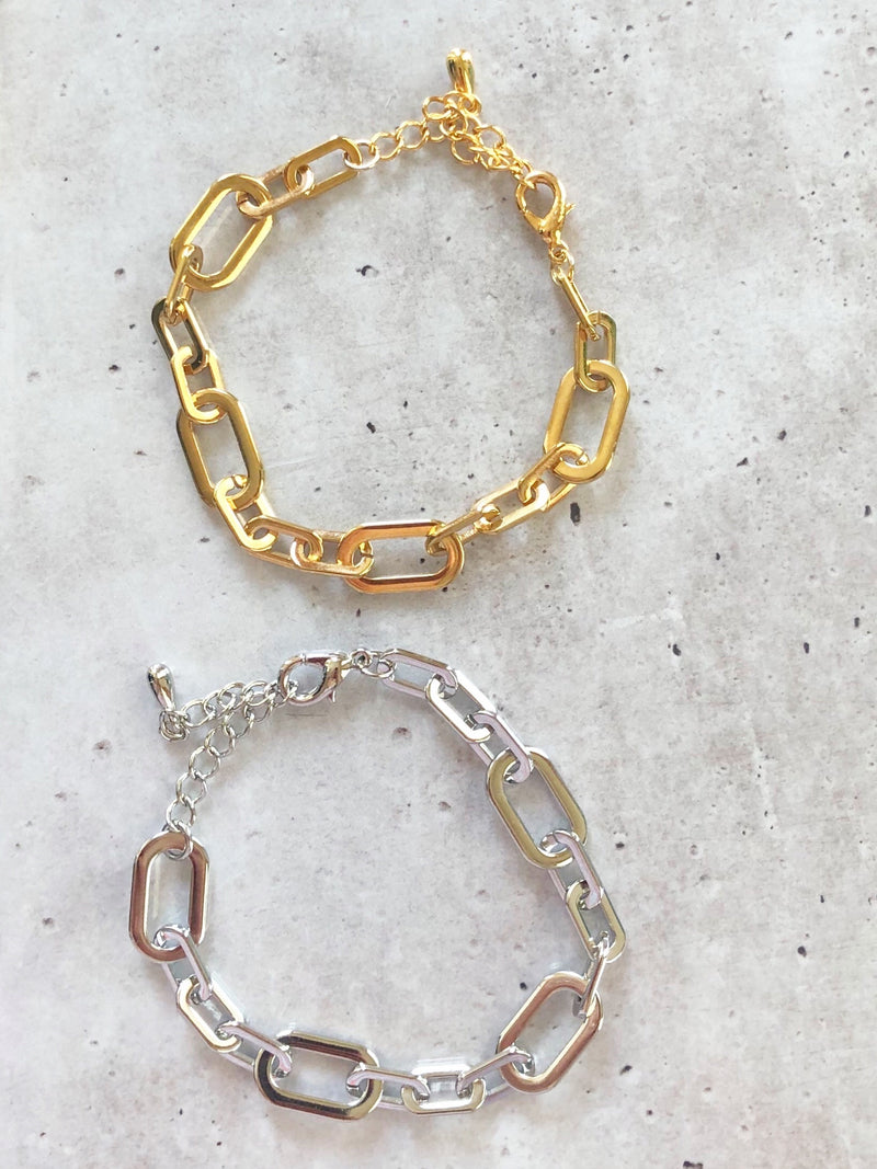 Power Chain Link Bracelet