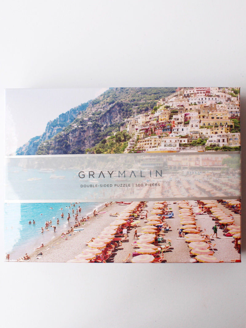 Gray Malin Italy Two-Sided Puzzle