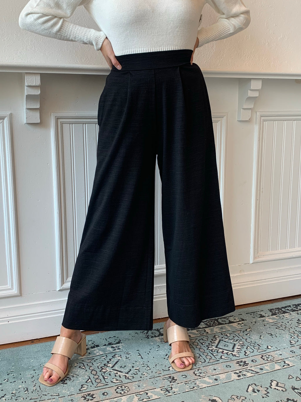 Keep It Real Wide Leg Pant