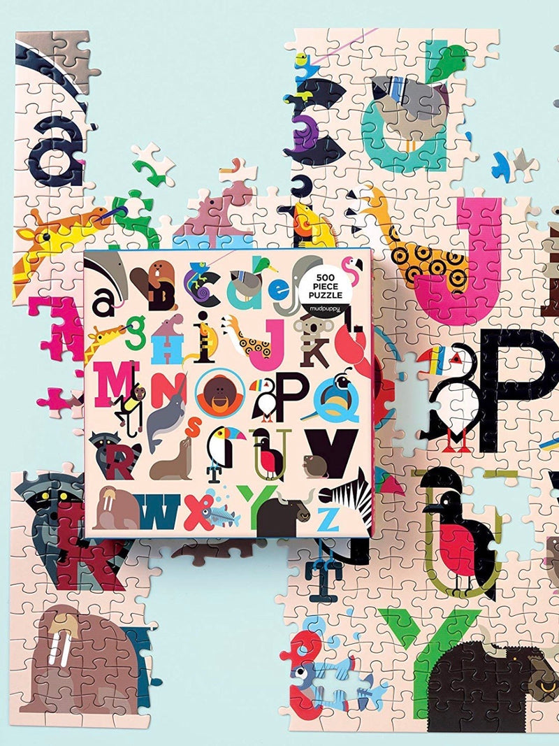 A-Z Animal Puzzle
