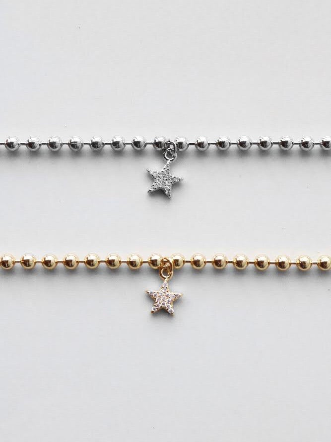 Star Studded Charm Necklace