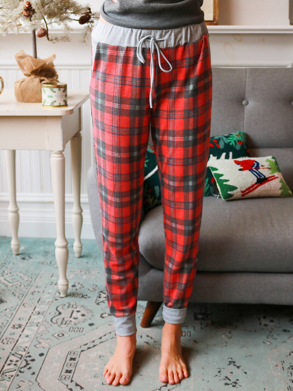 Mistletoe Morning Pajama Pant