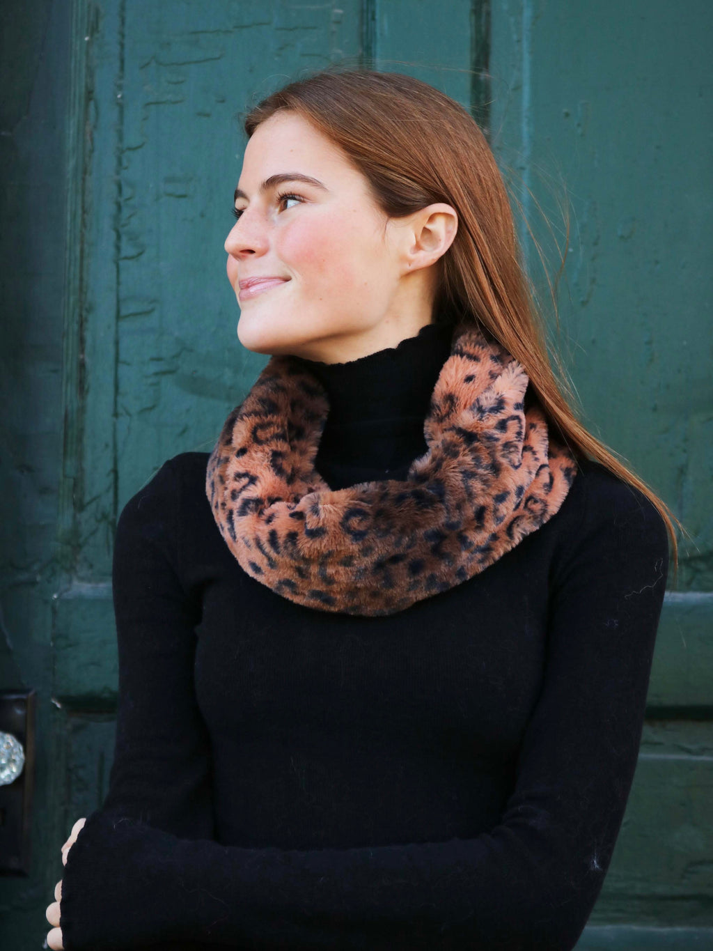 Leopard Fur Snood - FINAL SALE