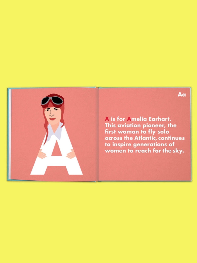 Lady Legends Alphabet Book