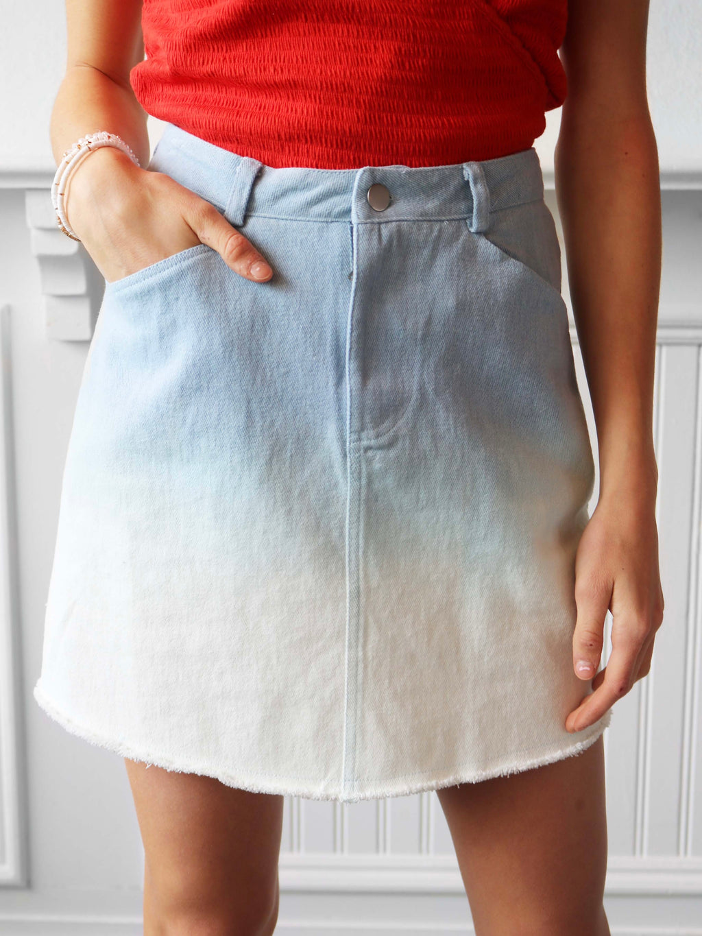 Lake Time Ombre Skirt