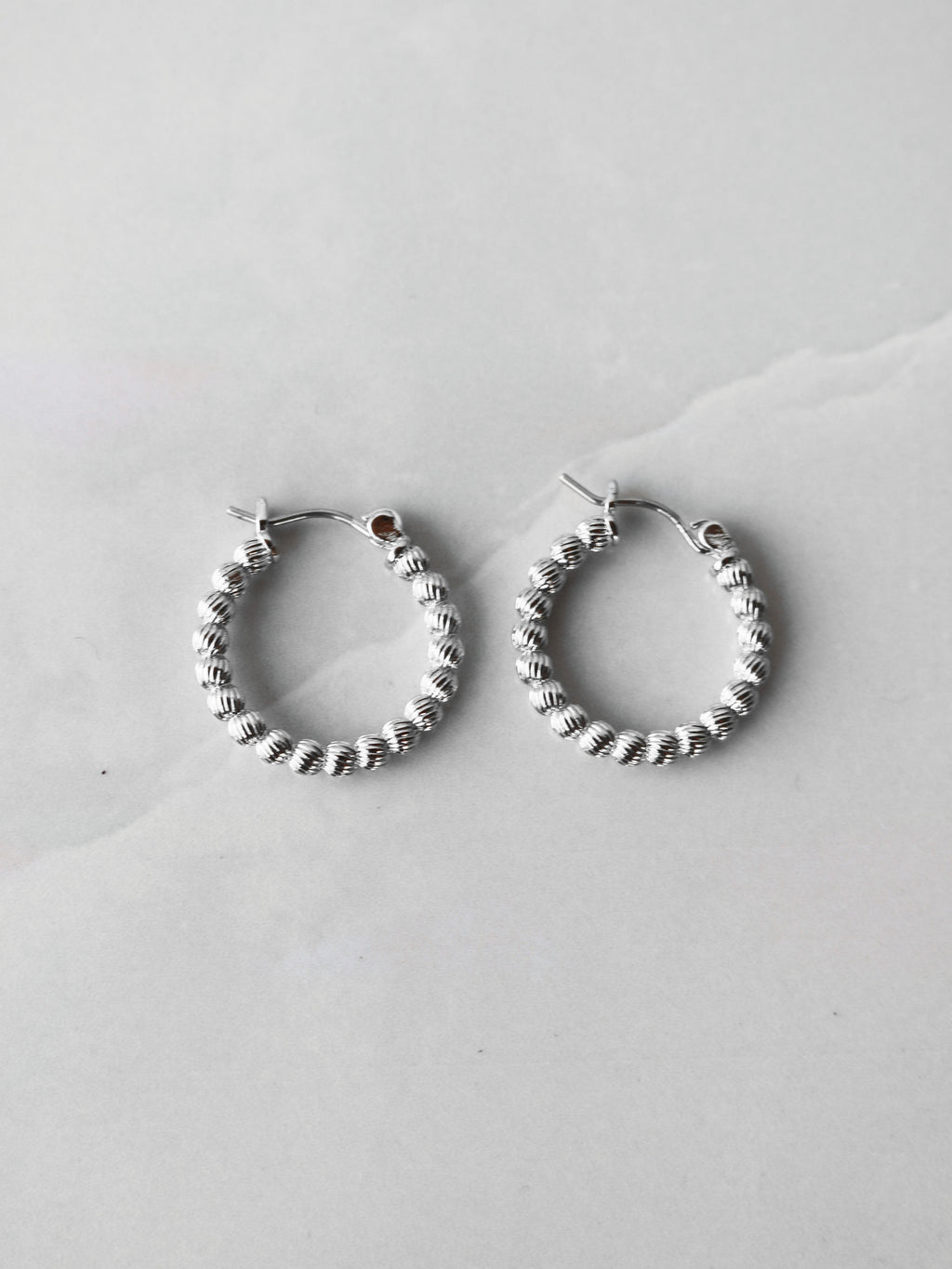 Textured Ball Hoops