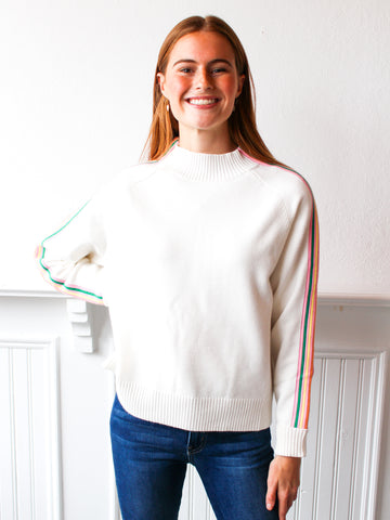 What's The Stitch Cropped Sweater