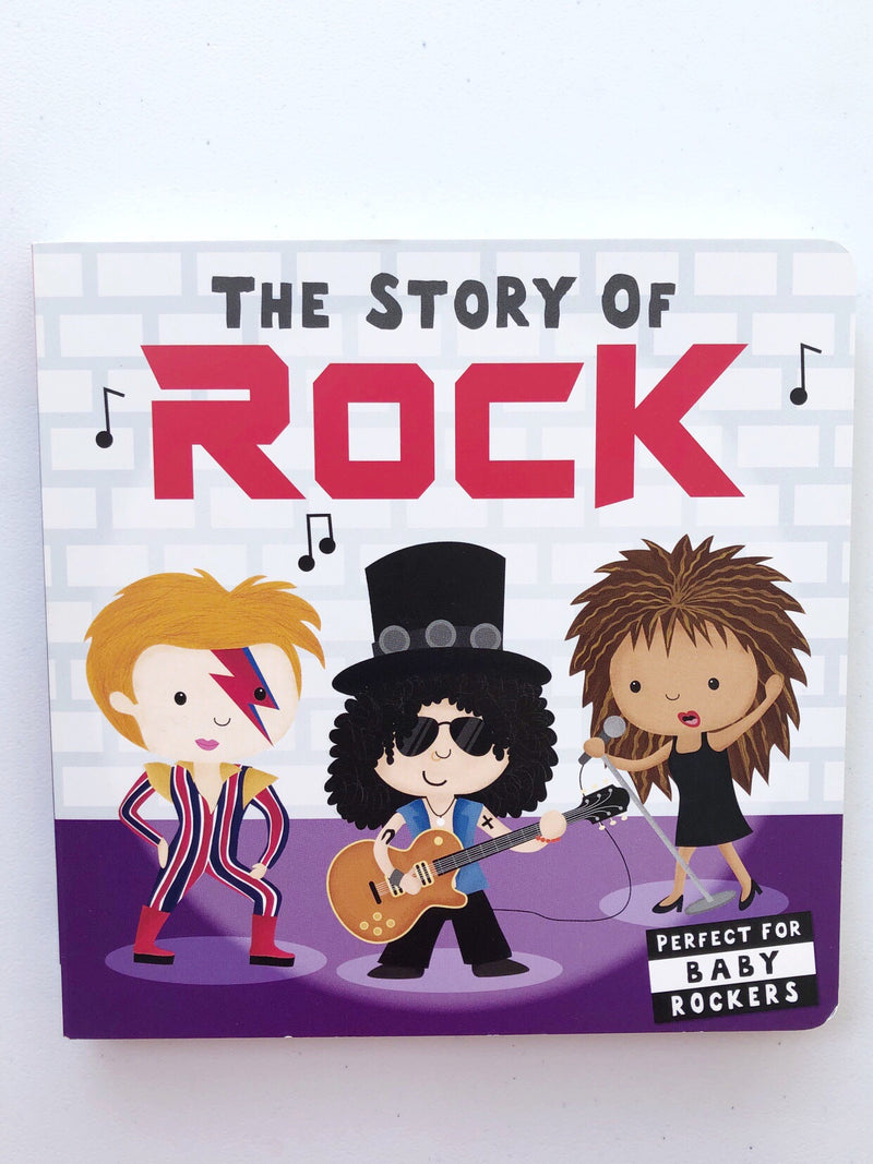 The Story of Rock Book