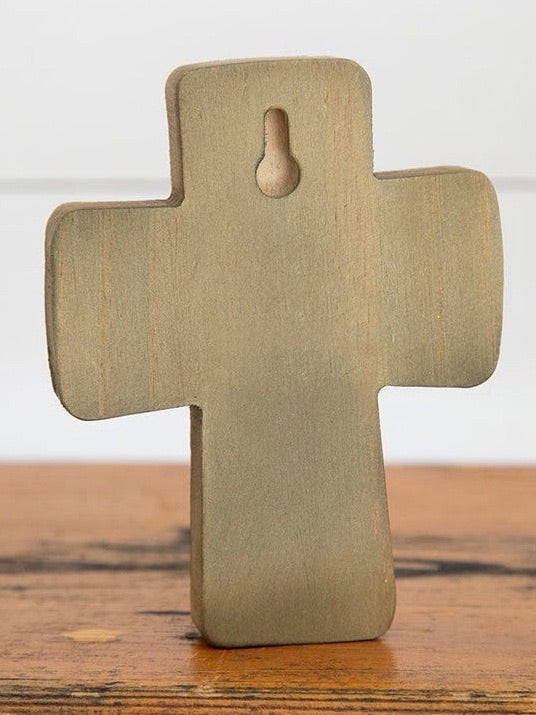 God Bless You Wooden Cross
