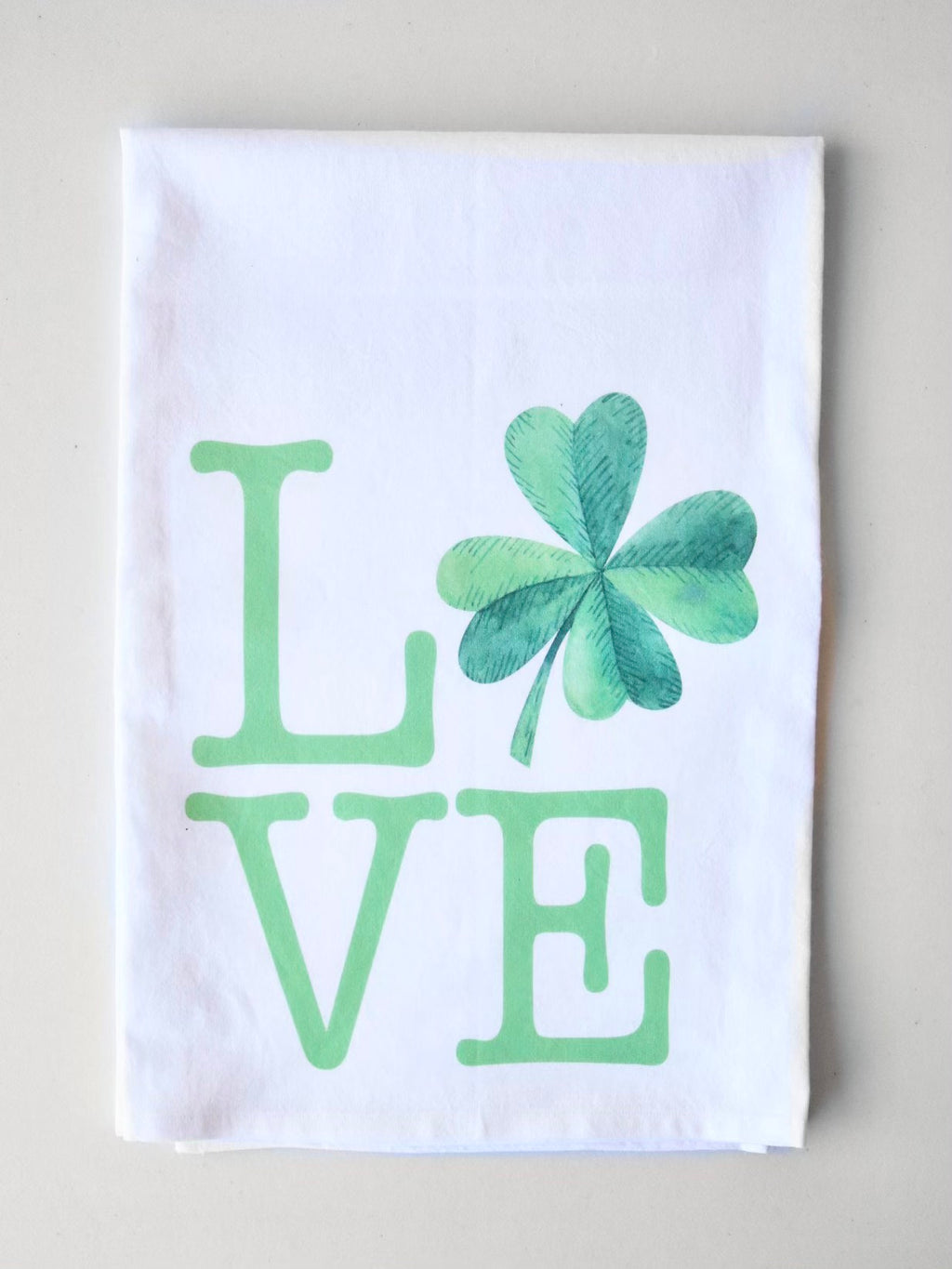 Lucky In Love Flour Sack Towel