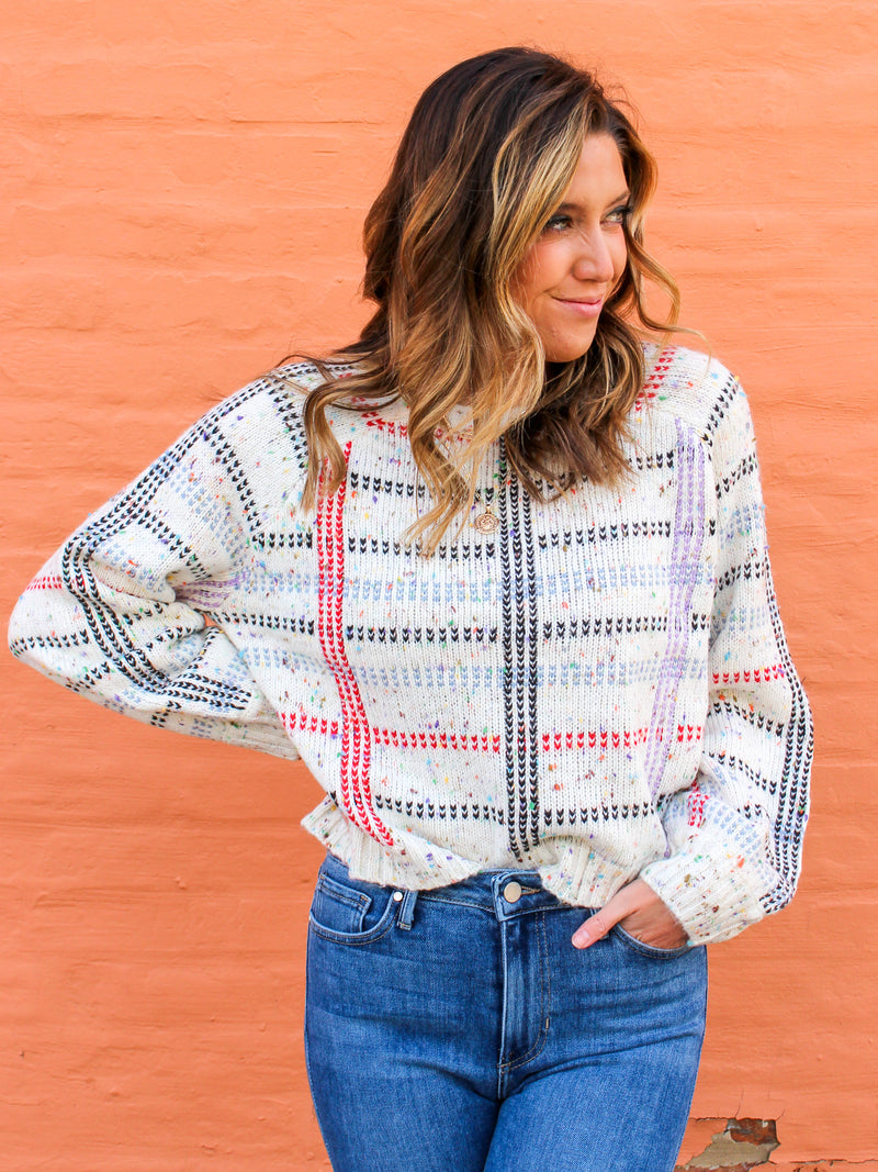 Gridlock Sweater
