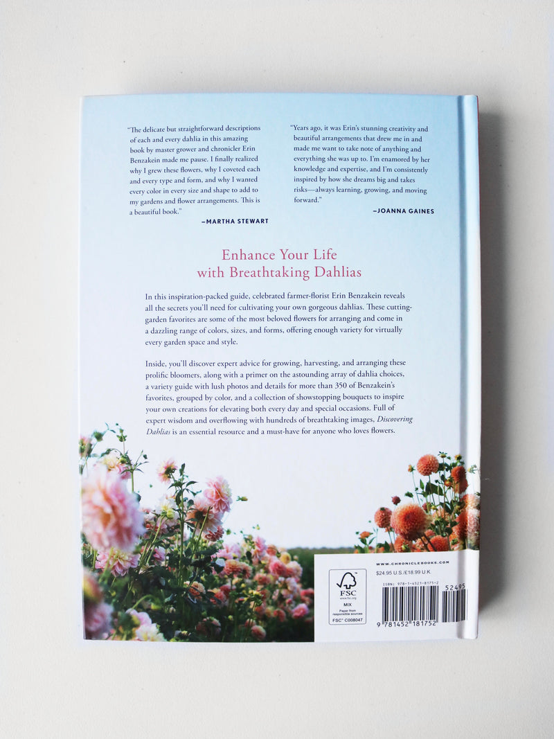 Floret Farm's Discovering Dahlias Book