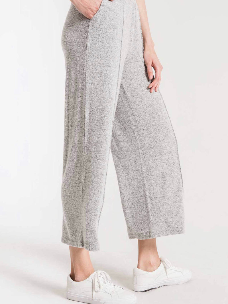 Marled Wide Leg Lounge Pants