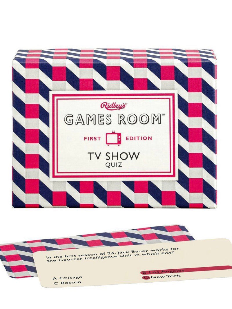 TV Show Trivia Quiz Game