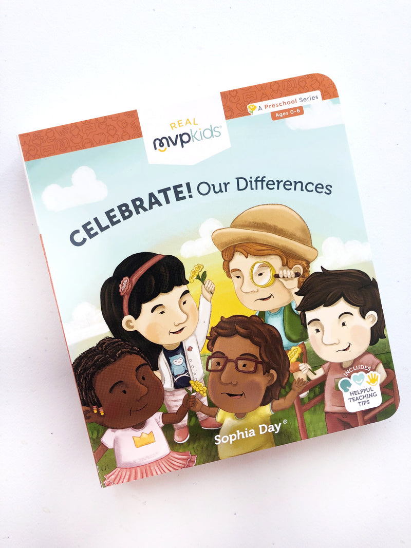 Celebrate Our Differences Kid's Board Book