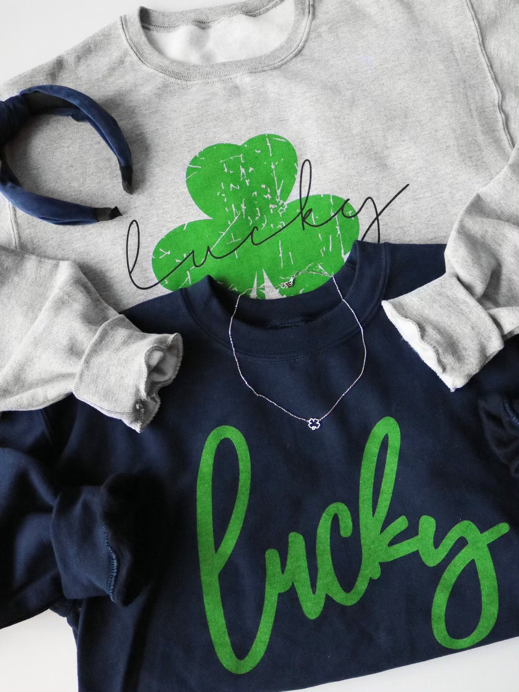Lucky Sweatshirt - Navy