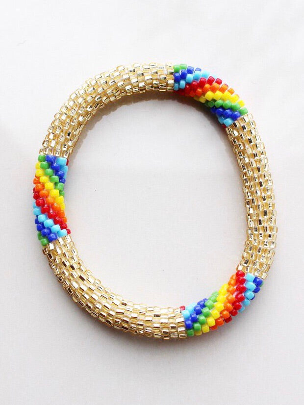 Pot of Gold Beaded Bracelet